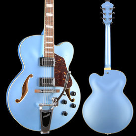 Ibanez Ibanez AFS75TSTF AFS Artcore 6str Electric Guitar  - Steel Blue Flat S/N PW18121471