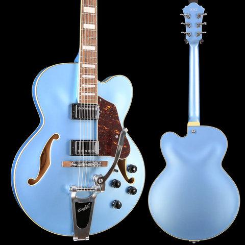 Ibanez AFS75TSTF Artcore 6str, Steel Blue Flat 471 6lbs 3.3oz