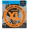 D'Addario ESXL110 Nickel Wound Electric, Regular Light, Double Ball End, 10-46