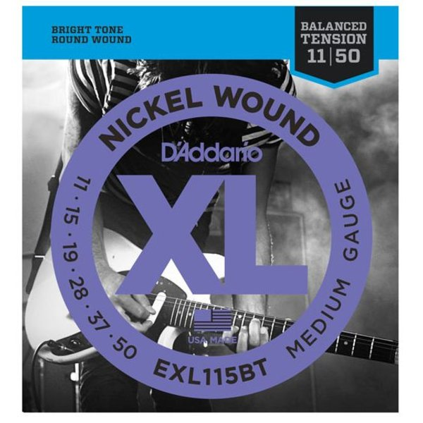 D'Addario D'Addario EXL115BT Nickel Wound Electric Strings, Balanced Tension Medium, 11-50