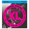 D'Addario EXL170 Nickel Wound Bass Guitar Strings, Light, 45-100, Long Scale
