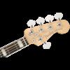 American Elite Jazz Bass V, Ebony Fingerboard, Satin Jade Pearl Metallic