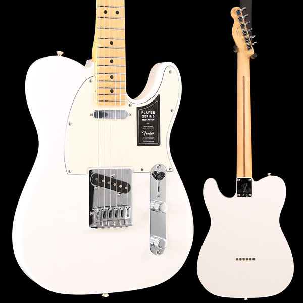 Fender Fender Player Telecaster, Maple Fingerboard, Polar White