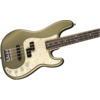 American Elite Precision Bass, Ebony Fingerboard, Satin Jade Pearl Metallic