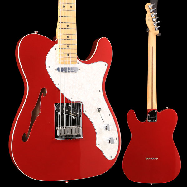 Fender Deluxe Telecaster Thinline, Maple Fingerboard, Candy Apple Red