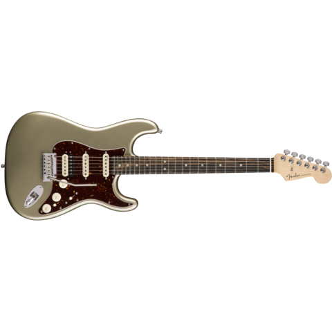 American Elite Stratocaster HSS ShawBucker, Ebony Fingerboard, Champagne