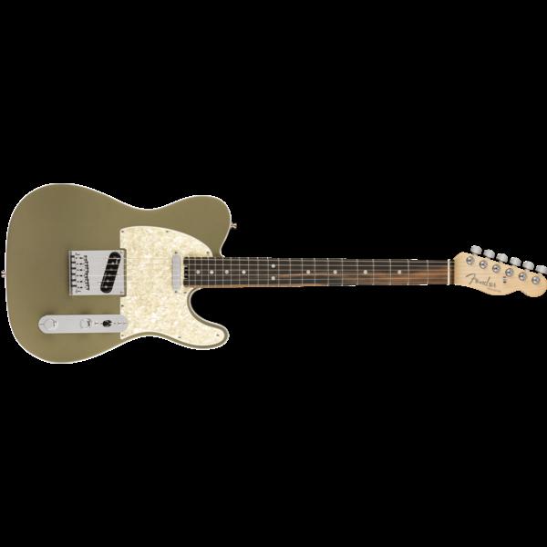 Fender American Elite Telecaster, Ebony Fingerboard, Satin Jade Pearl Metallic