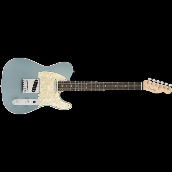 Fender American Elite Telecaster, Ebony Fingerboard, Satin Ice Blue Metallic