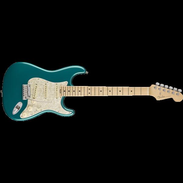 Fender American Elite Stratocaster, Maple Fingerboard, Ocean Turquoise