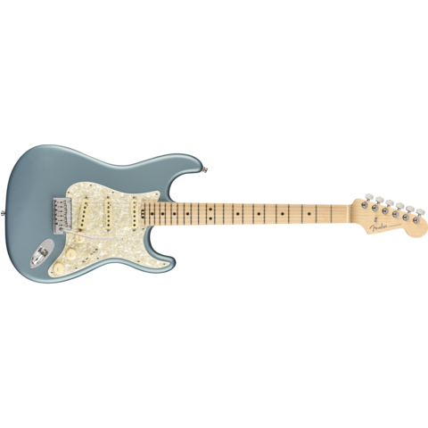 American Elite Stratocaster, Maple Fingerboard, Satin Ice Blue Metallic