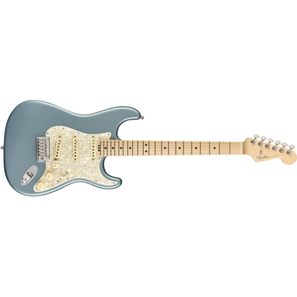 Fender American Elite Stratocaster, Maple Fingerboard, Satin Ice Blue Metallic