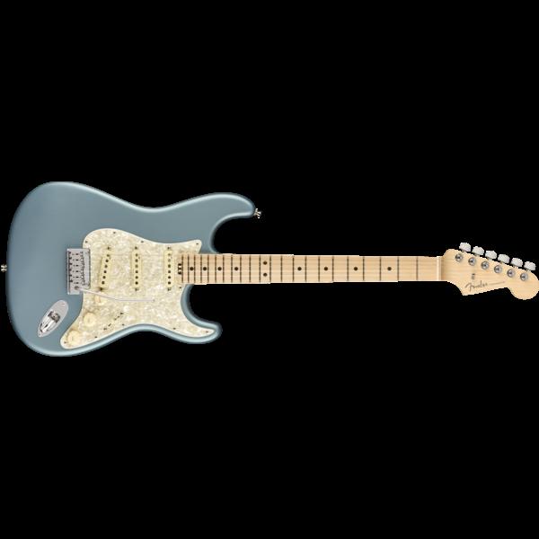 Fender American Elite Stratocaster, Maple Fingerboard, Satin Ice Blue Metallic