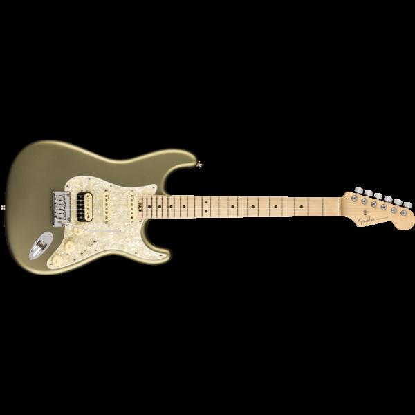Fender American Elite Stratocaster HSS ShawBucker, Maple Fingerboard, Satin Jade Pearl Metallic