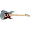 American Elite Stratocaster HSS ShawBucker, Maple Fingerboard, Satin Ice Blue Metallic