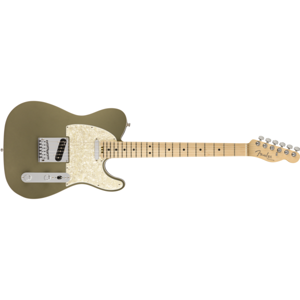 Fender American Elite Telecaster, Maple Fingerboard, Satin Jade Pearl Metallic