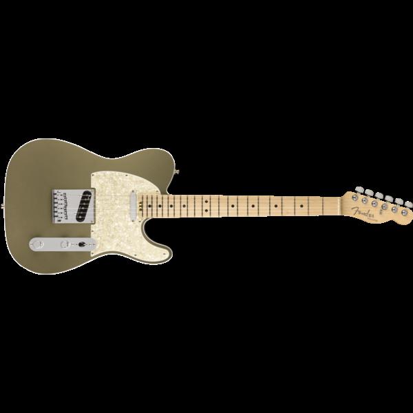 Fender American Elite Telecaster, Maple Fingerboard, Satin Jade Pearl Metallic