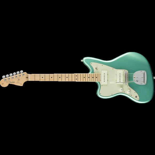 Fender American Pro Left-Handed Jazzmaster, Maple Fingerboard, Mystic Seafoam