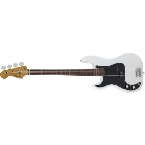 MIJ Traditional '60s Precision Bass Left-Handed, Arctic White