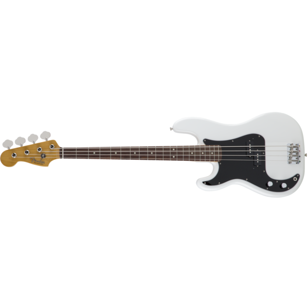 Fender MIJ Traditional '60s Precision Bass Left-Handed, Arctic White