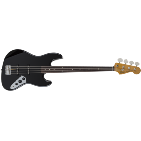 Fender MIJ Traditional '60s Jazz Bass Fretless, Rosewood Fingerboard, Black