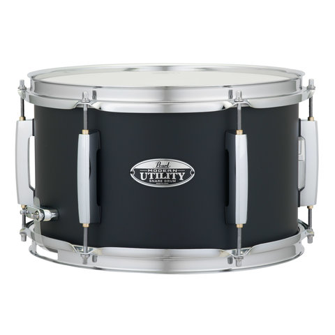 Pearl MUS1270M Modern Utility 6-Ply Maple Snare Drum, 12x7 Satin Black