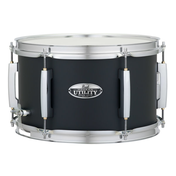 Pearl Pearl MUS1270M Modern Utility 6-Ply Maple Snare Drum, 12x7 Satin Black