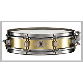 Pearl Pearl B1330 Brass Shell Piccolo 13x3 Snare Drum