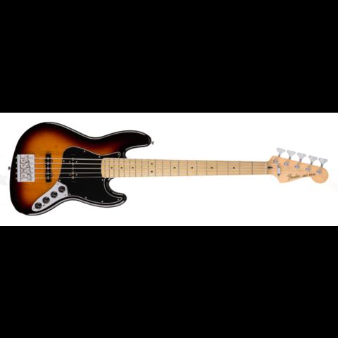 Deluxe Active Jazz Bass, Rosewood Fingerboard, Brown Sunburst