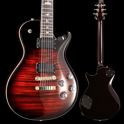 PRS Paul Reed Smith McCarty 594 Ten 10-Top, Pattern Vintage, Fire Burst Red, Hybrid - Used