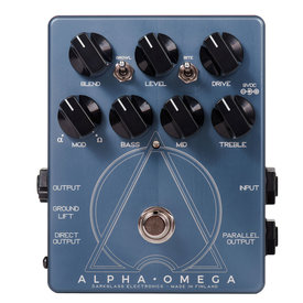 Darkglass Darkglass Alpha Omega Dual Bass Preamp/Overdrive Pedal