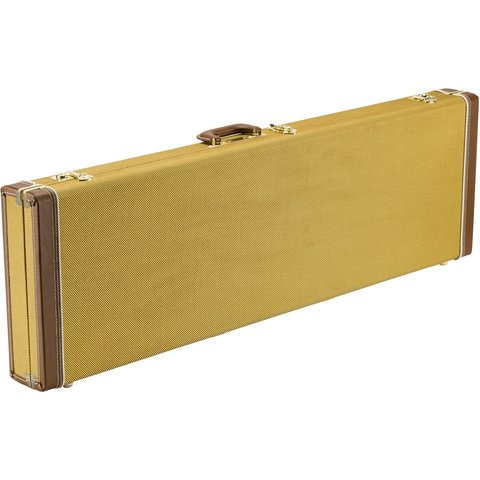 Classic Series Wood Case - Precision Bass/Jazz Bass, Tweed