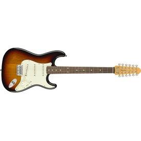 Fender Strat XII, Rosewood Fingerboard, 3-Color Sunburst