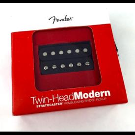 Fender Twin Head Modern Humbucking Bridge Pickup, Black
