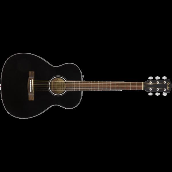 Fender CT-60S Travel, Walnut Fingerboard, Black