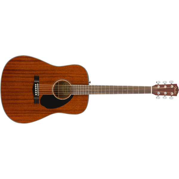 Fender CD-60S Dreadnought, Walnut Fingerboard, All-Mahogany