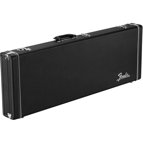 Fender Classic Series Wood Case - Strat/Tele, Black