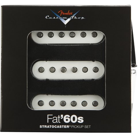 Custom Shop Fat '60s Stratocaster Pickups
