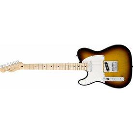 Fender Standard Telecaster Left-Handed, Maple Fingerboard, Brown Sunburst