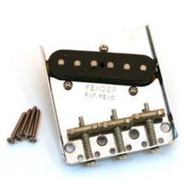 Fender 62 Tele Custom Bridge Assembly (with Pickup), Nickel