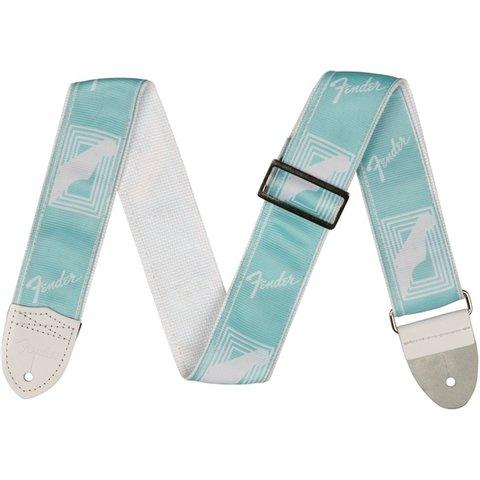 2'' Monogrammed Strap, Daphne Blue