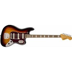 Squier Squier Classic Vibe Bass VI, Laurel Fingerboard, 3-Color Sunburst S/N ICS19018909
