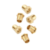 Tuning Machine Bushings - American Deluxe/American Series Guitars, Gold (6)