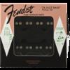 Pure Vintage '74 Jazz Bass Pickup Set, Black (2)