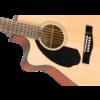 CC-60SCE Concert LH, Walnut Fingerboard, Natural