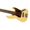 Deluxe Active Jazz Bass V (Five String), Rosewood Fingerboard, Vintage White