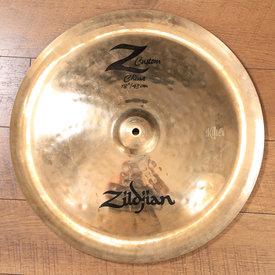 """Zildjian Cymbals Zildjian 18"""" Z Custom China - Used"""