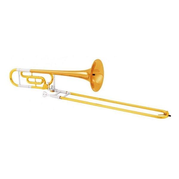 King King 608FSP Legend Series Perform Tenor Trombone w/ F Attachment, Silver Plated