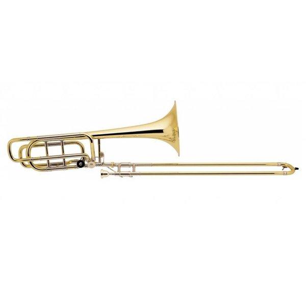 Bach Bach 50B3OG Stradivarius Profess Bb/F/Gb Bass Trombone Open Wrap/Gold Brass Bell