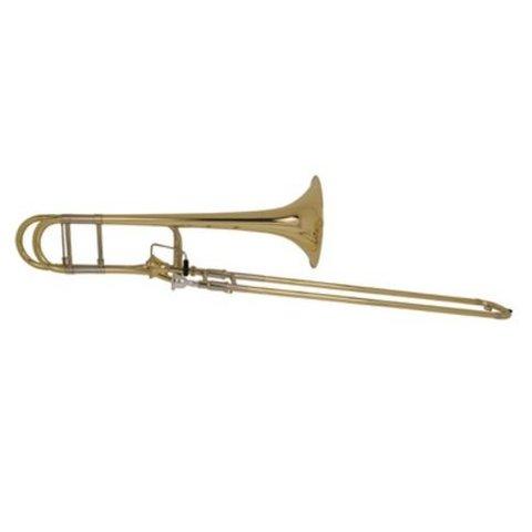 Bach 42AFS Stradivarius Professional Tenor Trombone, Silver Plated
