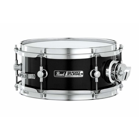 Pearl Short Fuse 4x10 Snare Drum w/ ISS Mount Jet Black